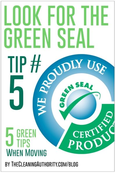 Look for the Green Seal
